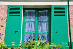 Дом Клода Monet в Giverny Стоковое Фото