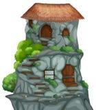 Дом пещеры Стоковое фото RF