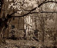 дом пугающая Стоковые Фотографии RF