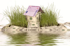 дом символическая Стоковое Изображение RF