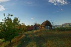 Дом соломы Стоковая Фотография