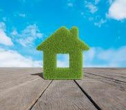 Дом травы Стоковое Изображение