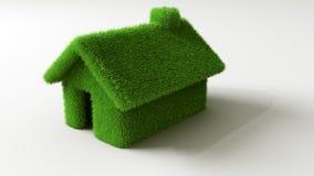 дом травы Стоковая Фотография