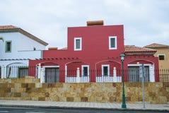 Дом - Фуэртевентура, Канарские островы, Испания Стоковая Фотография
