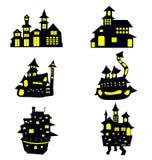 Дом хеллоуин Стоковая Фотография RF