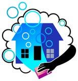 дом чистки Стоковые Фотографии RF