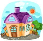 дом шаржа Стоковая Фотография RF