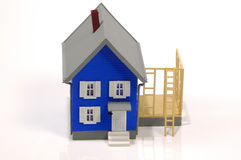 дом 2 добавлениям Стоковое Изображение
