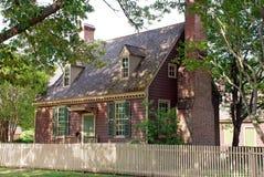 дом 90 colonial Стоковые Изображения