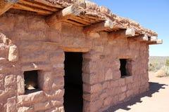Дом Adobe коренного американца Стоковые Фото