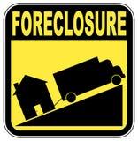 дом foreclosure Стоковая Фотография RF