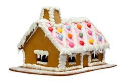 дом gingerbread Стоковые Изображения RF