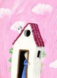 дом s бабушки Стоковые Изображения RF