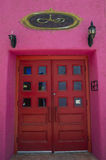 Дом Tucson Adobe Стоковые Фотографии RF