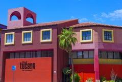 Дом Tucson Adobe Стоковое Изображение RF