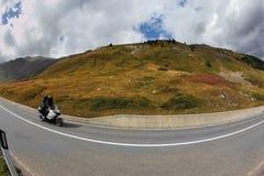 дорога всадника горы Стоковые Изображения