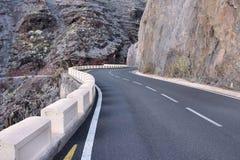 Дорога в Тенерифе Стоковая Фотография