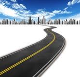 дорога города Стоковые Фото