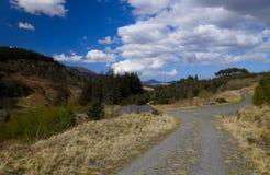 дорога горы george вилки Стоковые Фото