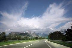 дорога гор Стоковая Фотография