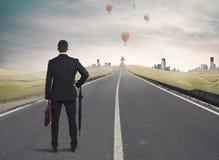 Дорога к успеху Стоковые Изображения RF