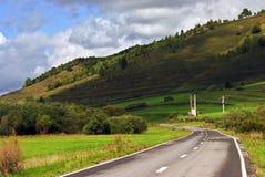 дорога ландшафта Стоковые Изображения