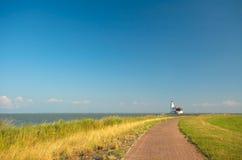 дорога маяка к Стоковые Изображения RF