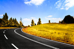 дорога осени Стоковые Фото