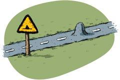 дорога рему Стоковое Изображение RF