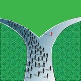 Дорога решения Стоковая Фотография RF