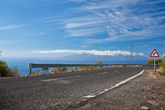 дорога свободного полета Стоковые Фотографии RF