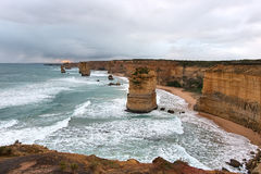 дорога 12 океана апостолов большая Стоковые Изображения RF