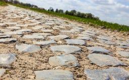 Дорога Cobbelstone Стоковые Изображения RF