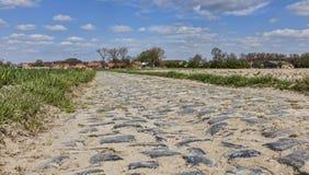 Дорога Cobbelstone Стоковая Фотография