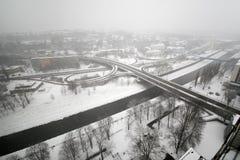 Дороги города Стоковые Фотографии RF