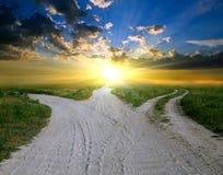 дороги сельские Стоковые Изображения