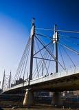 дорожка подвеса моста Стоковые Фото