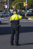 Дорожная полиция, Барселона Стоковая Фотография