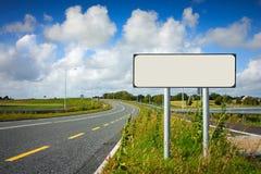 дорожный знак полюса Стоковая Фотография RF