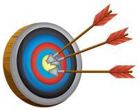 Доска archery Стоковая Фотография RF