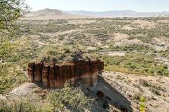 Долина в Танзании Стоковое фото RF