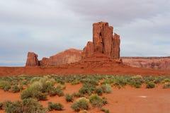 Долина памятника, Аризона и Юта, США Стоковые Изображения RF