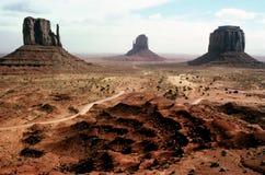 Долина памятника Стоковое фото RF