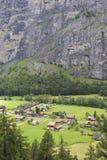 Долина Lauterbrunnen Стоковое Изображение RF