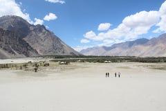 Долина Nubra (Ladakh) Стоковые Изображения RF