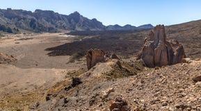 Долина Ucanca и собор Стоковое Изображение