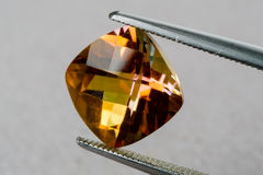 Драгоценная камень топаза Стоковая Фотография