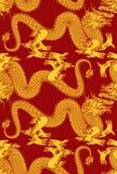 драконы безшовные Стоковые Изображения RF