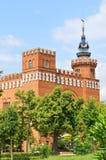 Драконы Tres dels человеческого замка в Барселоне, Испании Стоковое Изображение