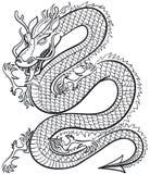 дракон большой Стоковое Изображение